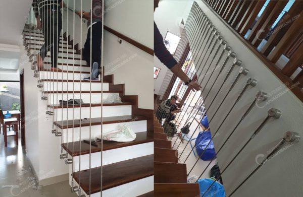 Cáp tăng đơ cầu thang