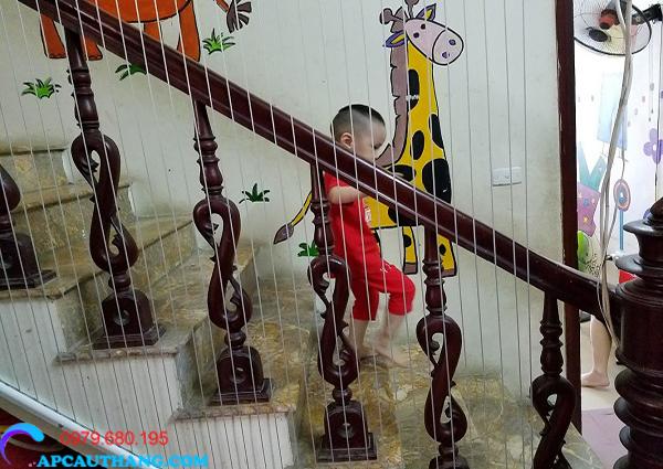 Lưới cầu thang là gì