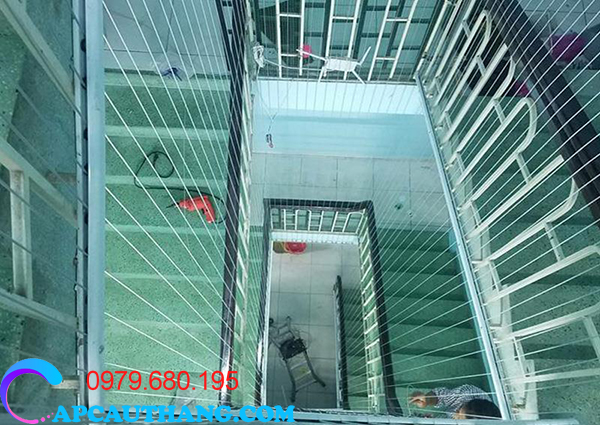 Ưu điểm của lưới cầu thang giá rẻ