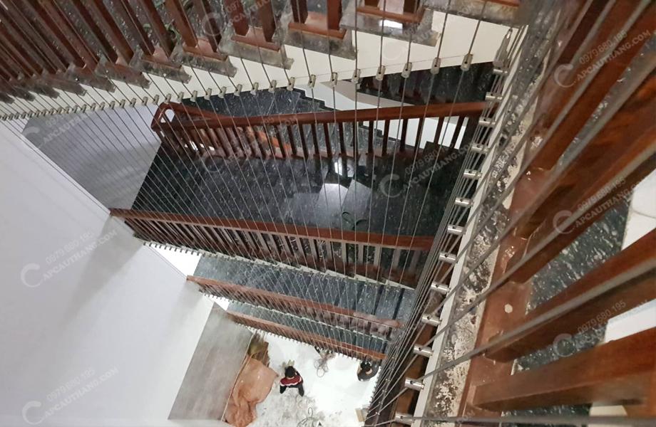 ảnh lưới an toàn cầu thang ở Nam Định