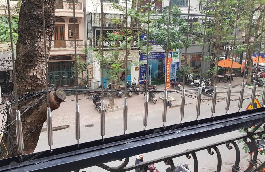Lưới bảo vệ cầu thang - ban công