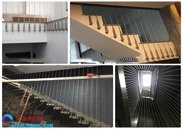 Cách thi công lưới cầu thang