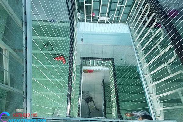 Ưu điểm của lưới cầu thang