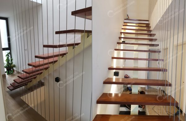 Cấu tạo của lưới bảo vệ cầu thang